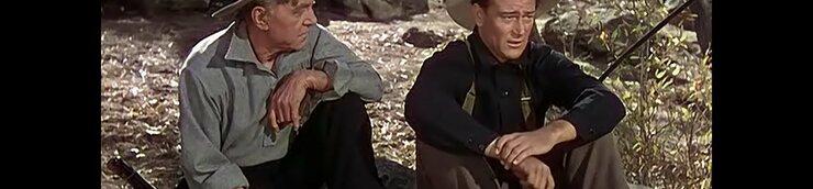 Henry Hathaway & John Wayne
