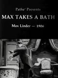 Max prend un bain