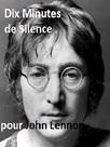 Dix minutes de silence pour John Lennon