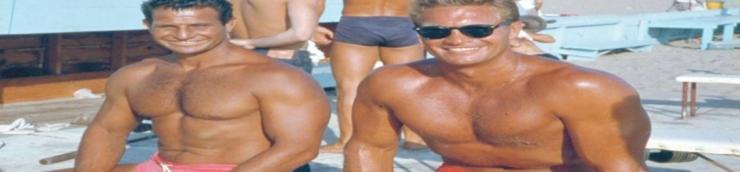 Acteurs bodybuilders US expatriés en Italie