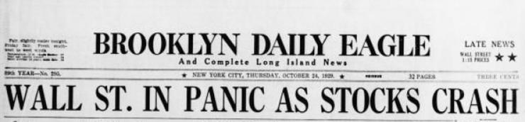 La Grande Dépression de 1929 à l'écran