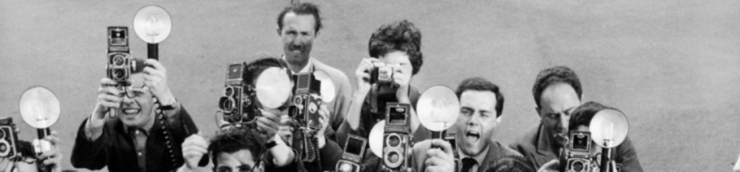 Paparazzi et vilains reporters [Chrono]