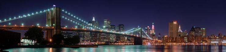 Le pont de Brooklyn s'affiche