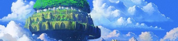 """Les meilleurs films de Hayao Miyazaki avec le mot """"château"""" dans le titre"""