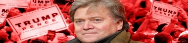 Steve Bannon, Conseiller de Donald Trump (dans la série : Faisons connaissance avec nos nouveaux maîtres)