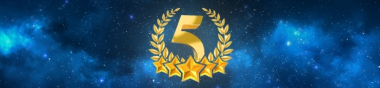Mes 5 étoiles